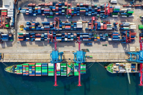 A-bird's-eye-view-of-cargo-being-exported